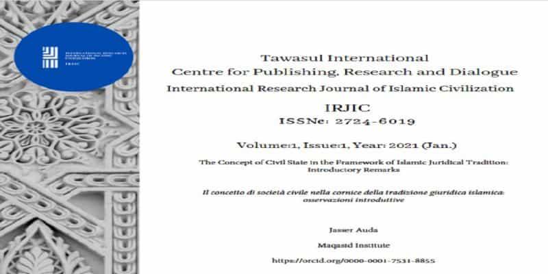 Civil State in Islamic Juridicial Tradition