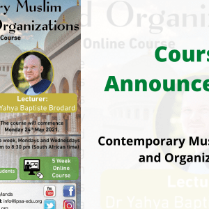 Muslim societies and organizations yahya brodard